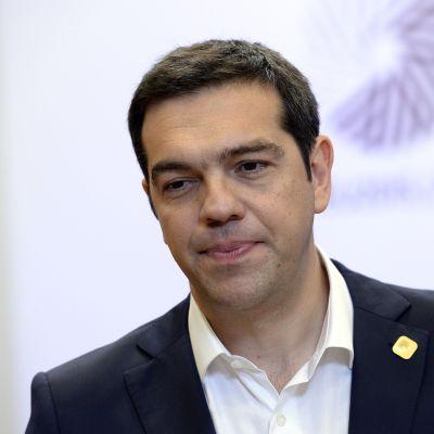 Kreikan pääministerin Alexis Tsipras