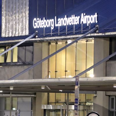 Göteborg-Landvetterin lentoasema.