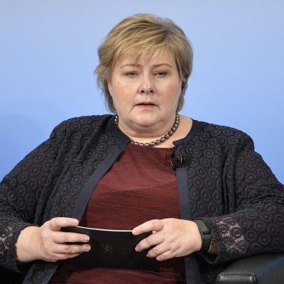 Norjan pääministeri Erna Solberg
