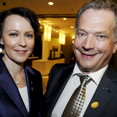 Jenni Haukio ja Sauli Niinistö