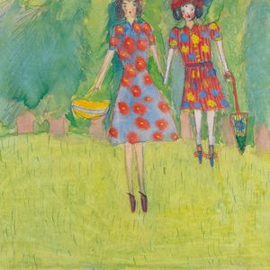 Nelly Toll: Mädchen im Feld / Girls in the Field (1943)