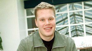 I april 2000 återvände den 21-årige New York Islanders-spelaren Olli Jokinen till Europa för att spela VM.