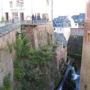 Saarburg: Saar-joen vesiputous