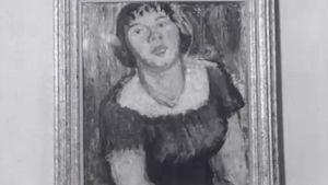 """Tyko Sallisen taideteoksessa nainen nimeltä """"Mirri"""""""