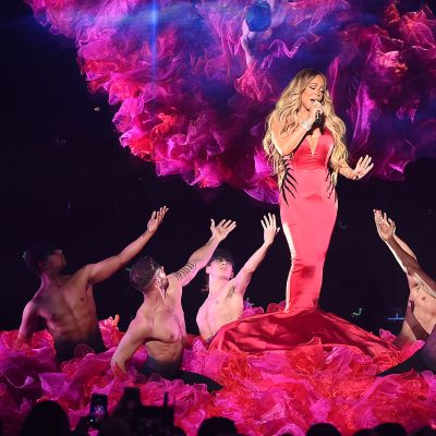Mariah Carey Los Angelesissa lokakuussa 2018.