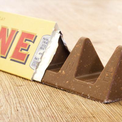 Toblerone-suklaata