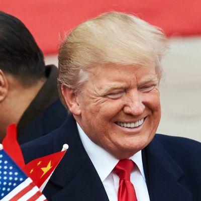 Xi Jinping ja Donald Trump.