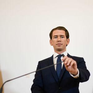 Itävallan liittokansleri Sebastian Kurtz