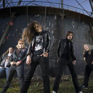 Heavymetalbandet Sturm und drang från Vasa.