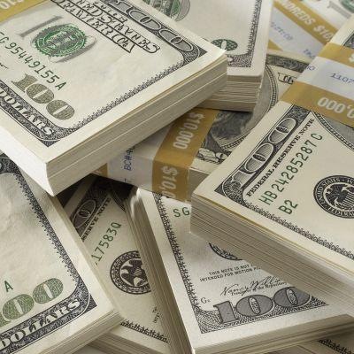 Raha seteli dollari