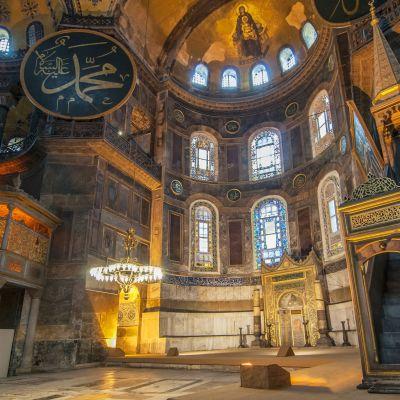 Hagia Sofia sisältä