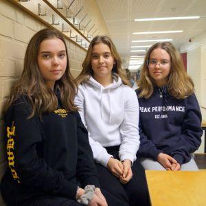 Elever i Oxhamns skola.
