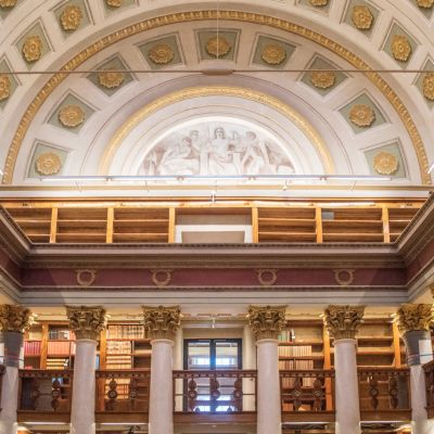 Remontoitu kansalliskirjasto