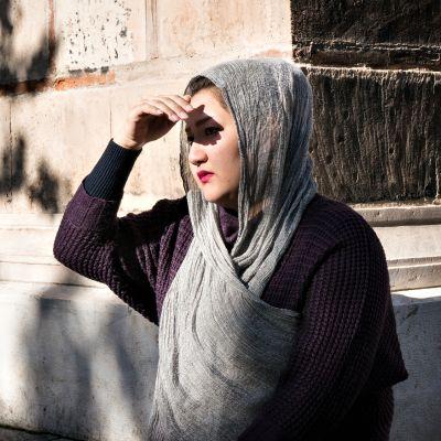Zeinab Ghanbari on alkanut katua turvapaikan hakemista Kreikasta.