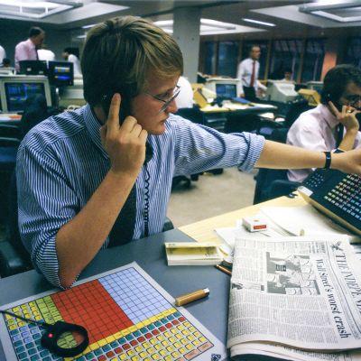 Meklari Lontoon pörssissä 1987