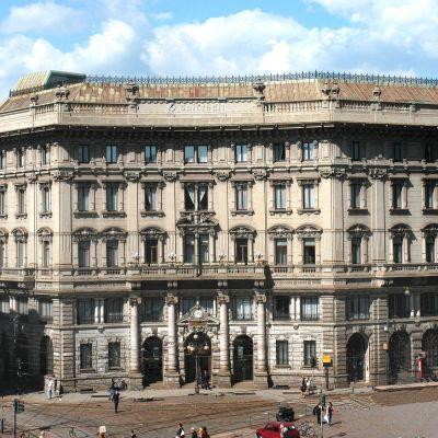 UniCredit-pankin pääkonttori Milanossa.