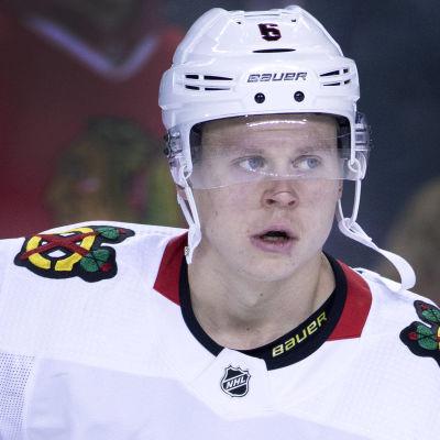 Olli Määttä spelar i Chicago Blackhawks.