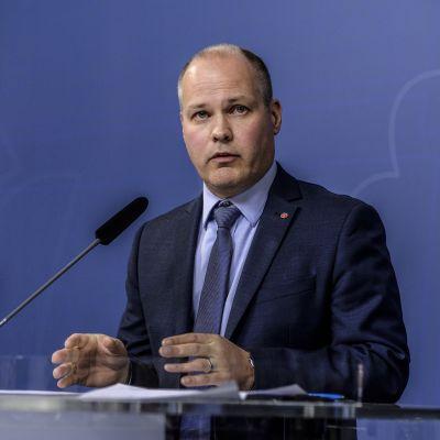 Ruotsin oikeus- ja sisäministeri Morgan Johansson