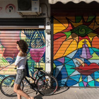 Graffiteja Ateenassa.
