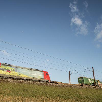 Tanskassa Ison-Beltin turmassa oli osallisina matkustajajuna ja tavarajuna.