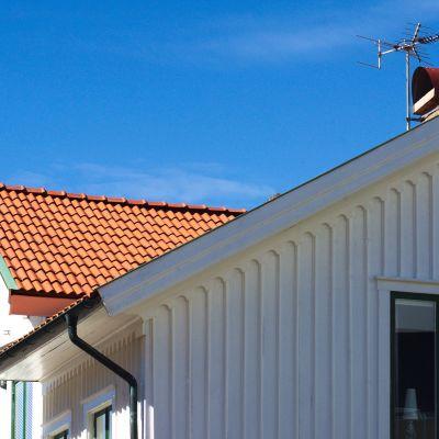 omakotitalon katto