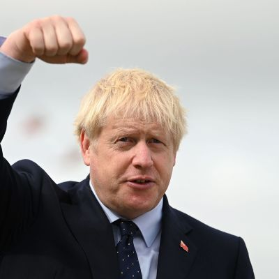 Britannian pääministeri Boris Johnson.