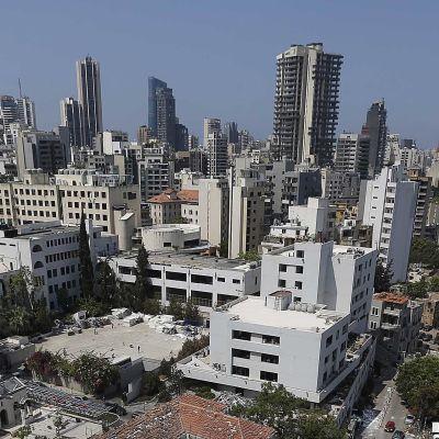 Vy över Beirut