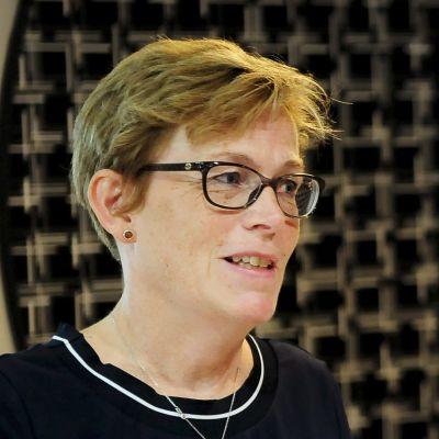 Christina Gestrin,särskild representant för Östersjösamarbetet. och uttikesminister Timo Soini.