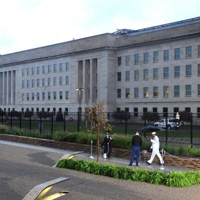 Pentagon rakennus.