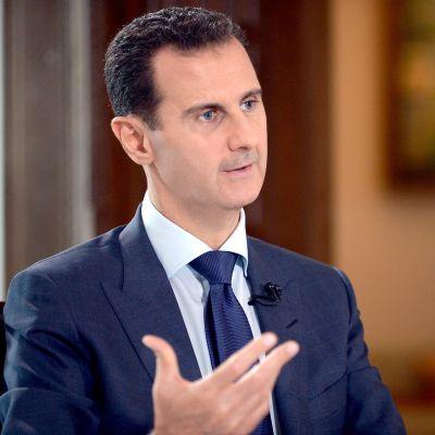 Bashar al-Assad vuonna 2016.