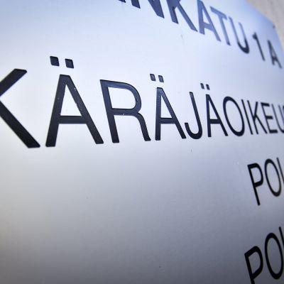 Hyvinkään käräjäoikeus Hyvinkäällä 15. heinäkuuta 2020.