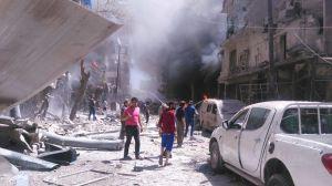 Rami Adhams bild från Aleppo