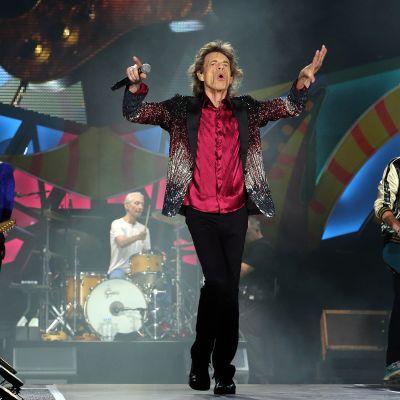 Rolling Stones esiintyi Havannassa, Kuubassa 25. maaliskuuta 2016.