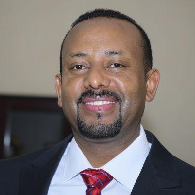Etiopian pääministeri Abiy Ahmed