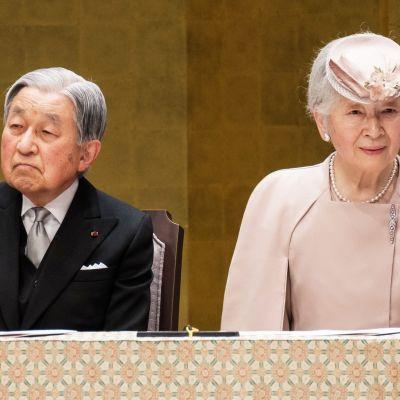 Akihito ja Michiko.