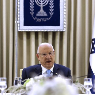 Israelin presidentti Reuven Rivlin.
