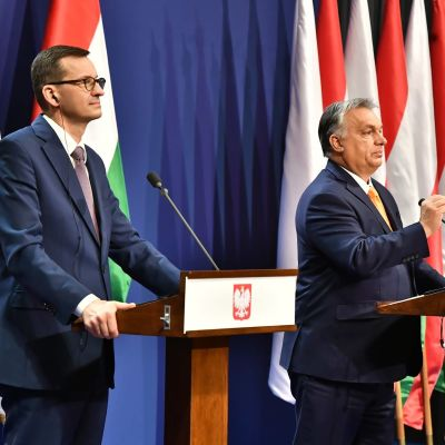 Mateusz Morawiecki ja Viktor Orbán