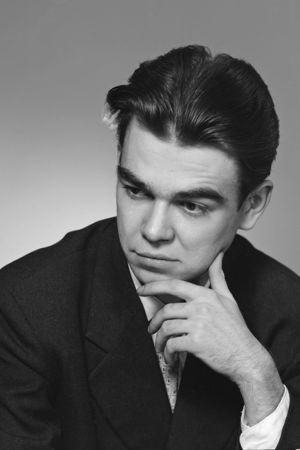 Runoilija Pentti Saarikoski 1958.