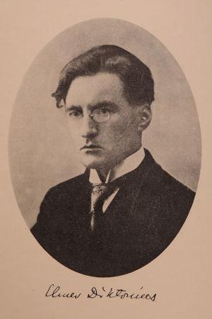 Elmer Diktonius noin vuonna 1920