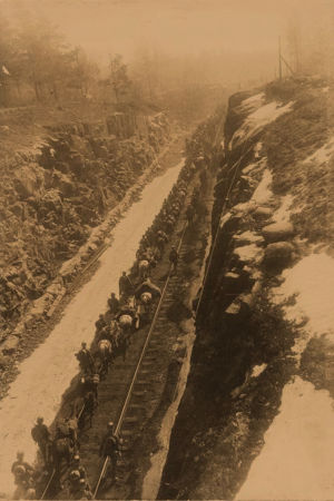 Saksalaisia sotilaita Pasilassa 12.4.1918.