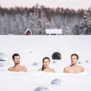 Den estniska folkmusikgruppen Trad.Attack!