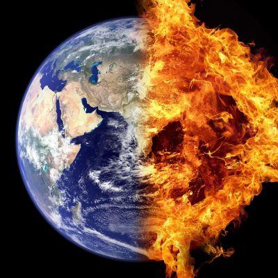 maapallo palaa