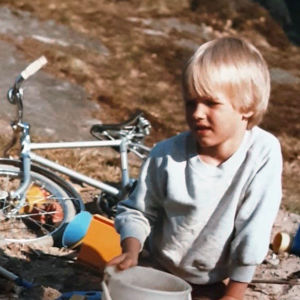 Kasper Ramström 6 år gammal.