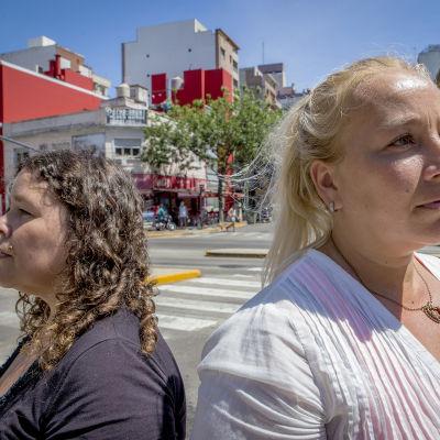 Hanna och Amanda Hietala.