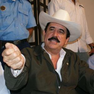 Honduras före detta president Manuel Zelaya