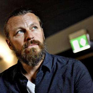 Peter Franzén kuvattuna elokuussa 2017.