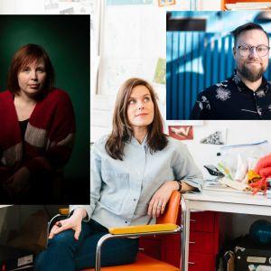 Karin Erlandsson, Jenny Lucander och Jens Mattsson.