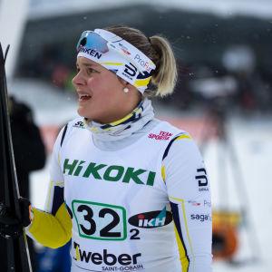 Julia Häger vid FM i Imatra 2019.