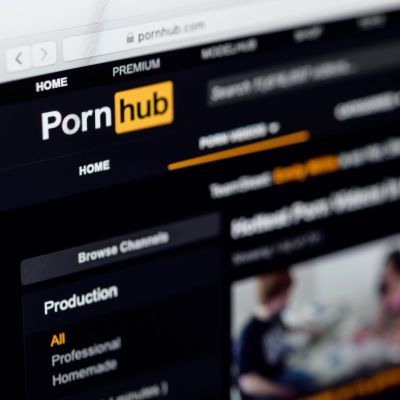 Kuvituskuva Pornhub-videopalvelusta.