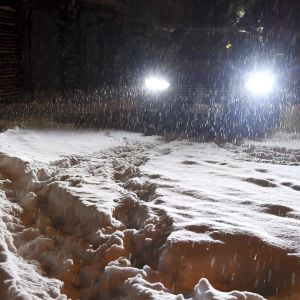 Snöyra i januari 2019.